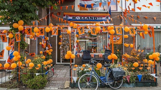 Koningsdag, festa del re in Olanda