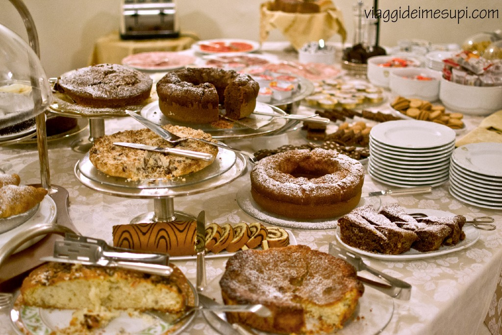 Breakfast at Antica Dimora alla Rocca, Trevi