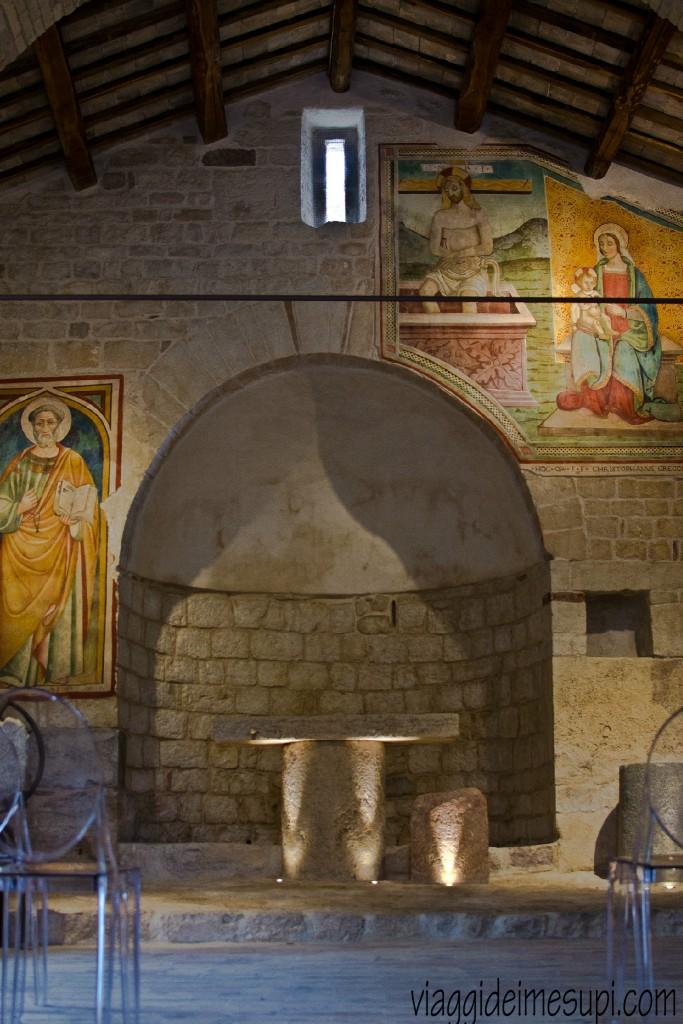 Romanic church of San Pietro a Pettine, Trevi
