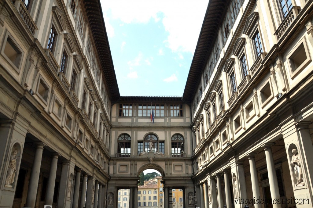 florence in one day, uffizi