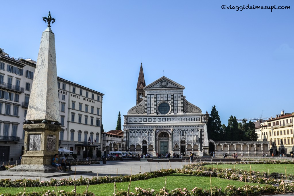 Where to sleep in Florence, PIAZZA SANTA MARIA NOVELLA