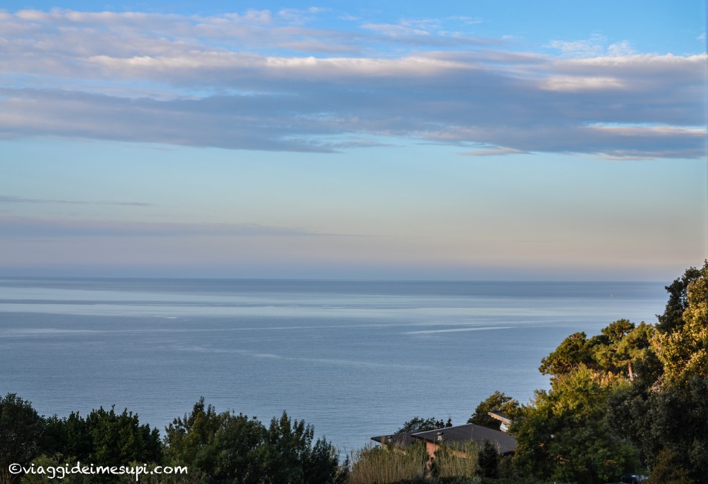 Where to stay near Cinque Terre: view from the room