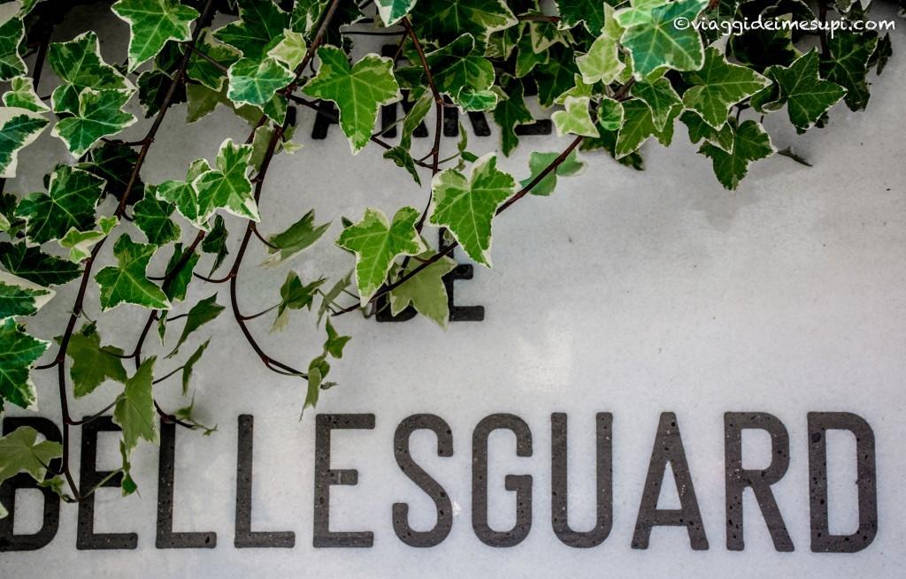 Torre Bellesguard a Barcellona - la via