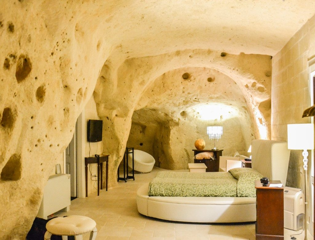 Where to stay in Matera: the Caveoso Hotel