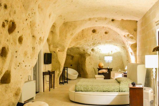 Where to stay in Matera: the Caveoso Hotel
