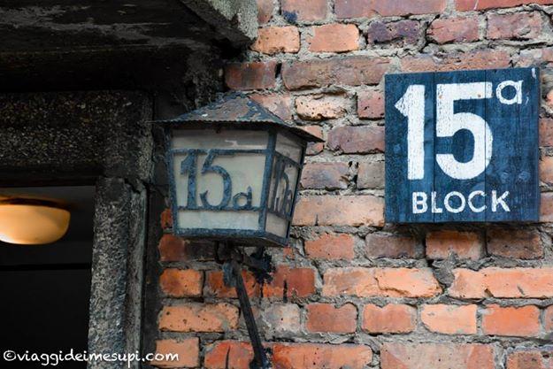 Visitare Auschwitz e Birkenau, blocchi