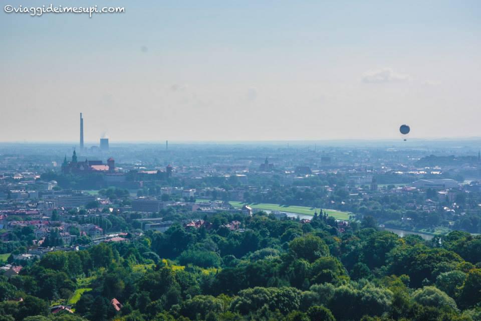 Vista dal tumulo di Kosciuszko