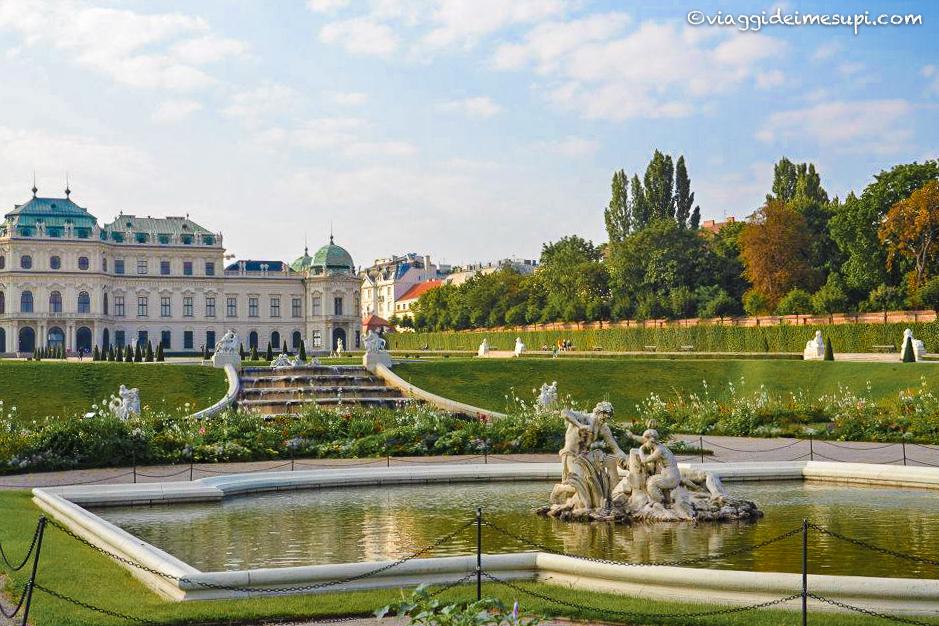 Vienna in un weekend, Belvedere