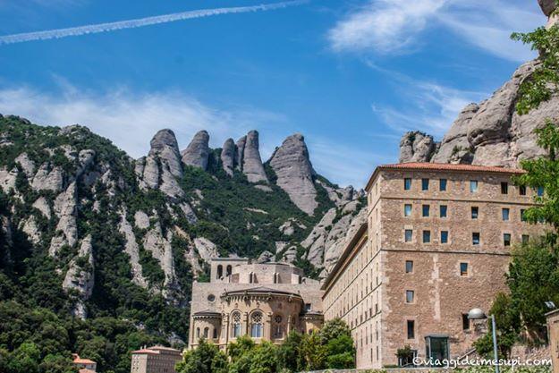 da roma a barcellona, Montserrat