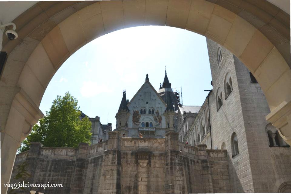 Castello di Neuschwanstein cortile