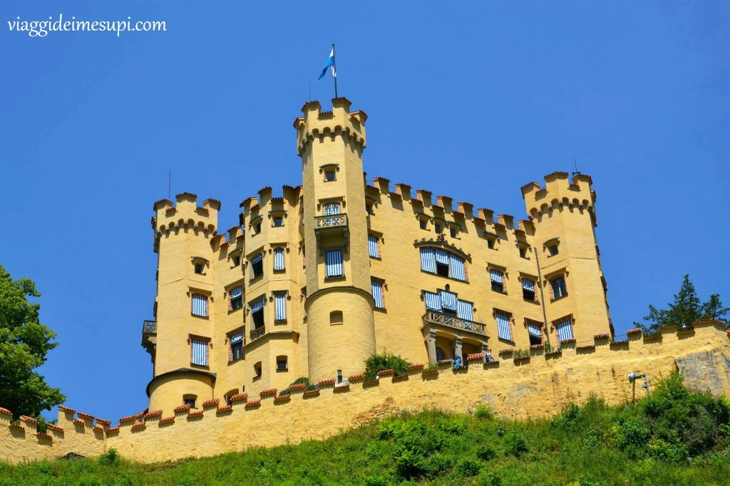 Castello di hohenschwangau a Füssen