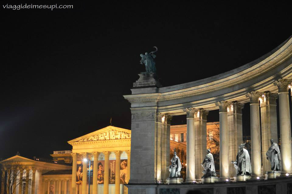 5 cose da non perdere a Budapest, Piazzale degli Eroi