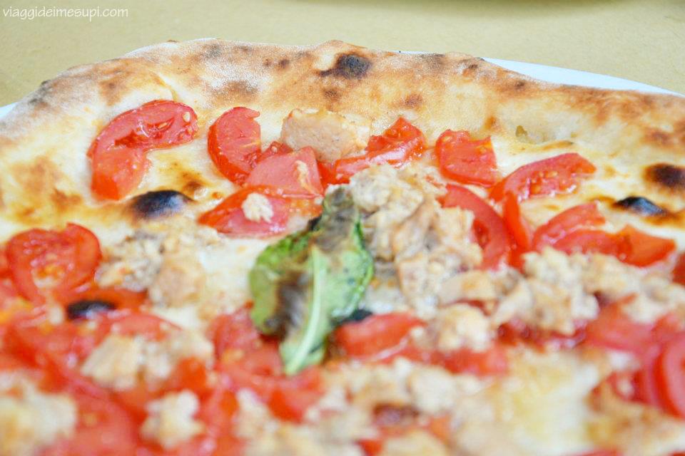 Dichiarazione d'amore a Napoli, la pizza