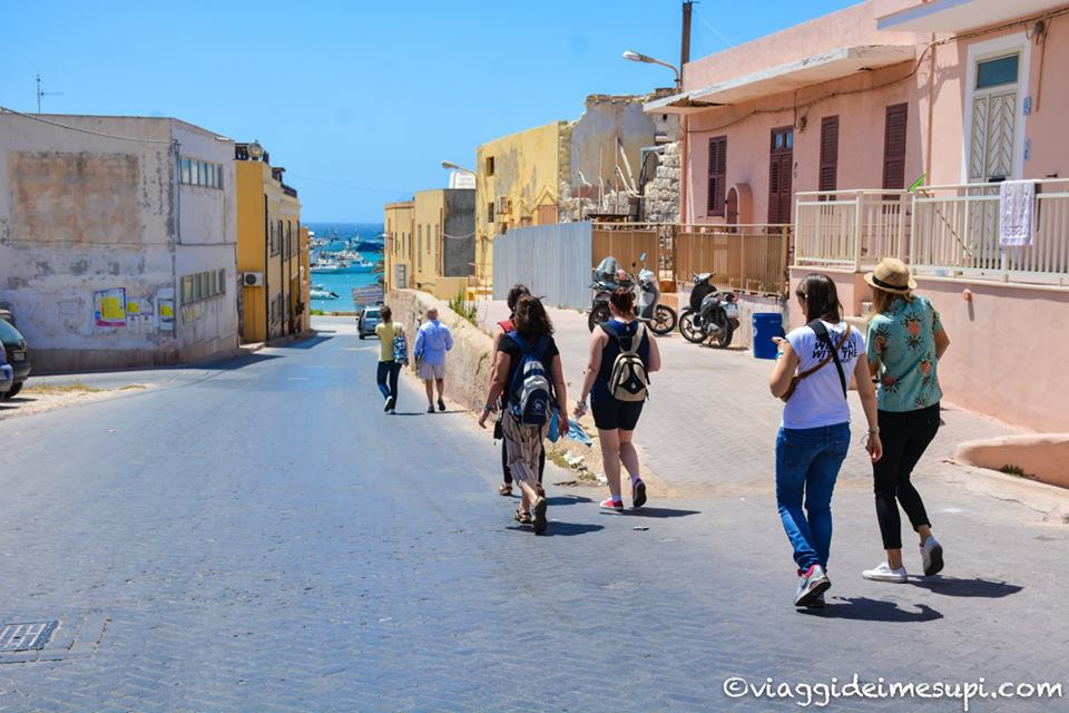 In giro per Lampedusa
