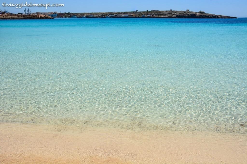 Le spiagge più belle di Lampedusa, cala guitgia