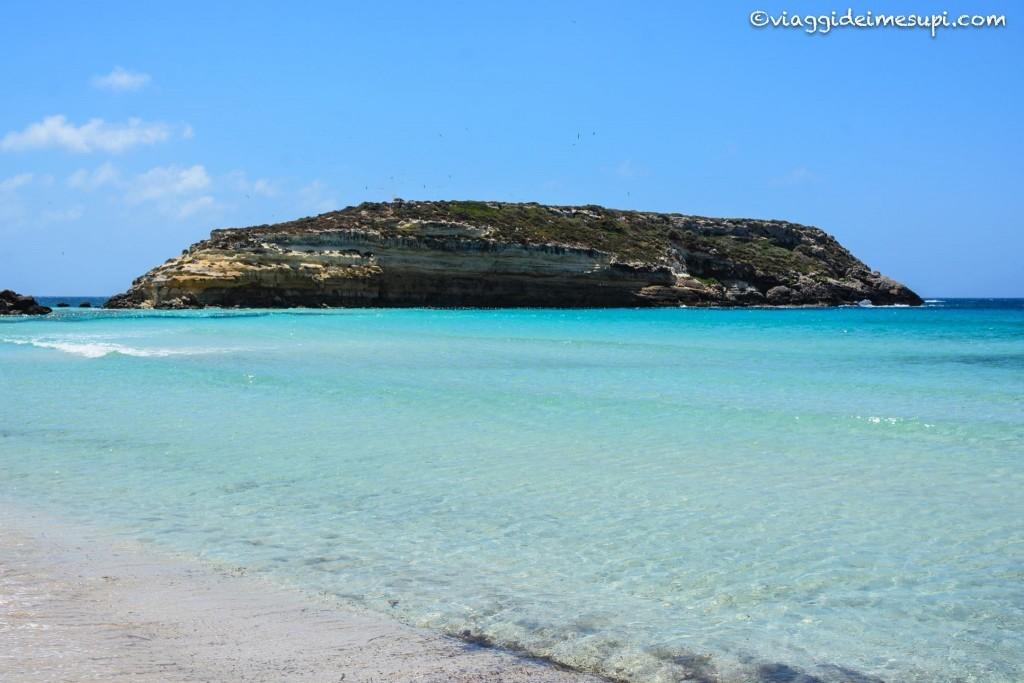 Spiagge più belle di Lampedusa, Spiaggia dei Conigli2