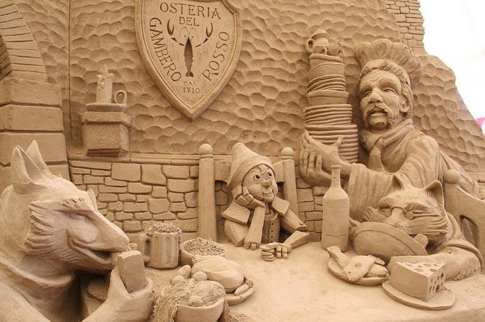 Jesolo, festival delle sculture di sabbia sulle spiagge più belle del nord