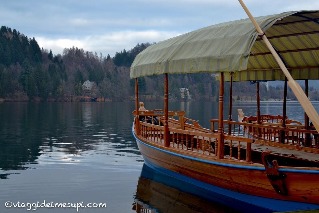 Pletna, lago di Bled