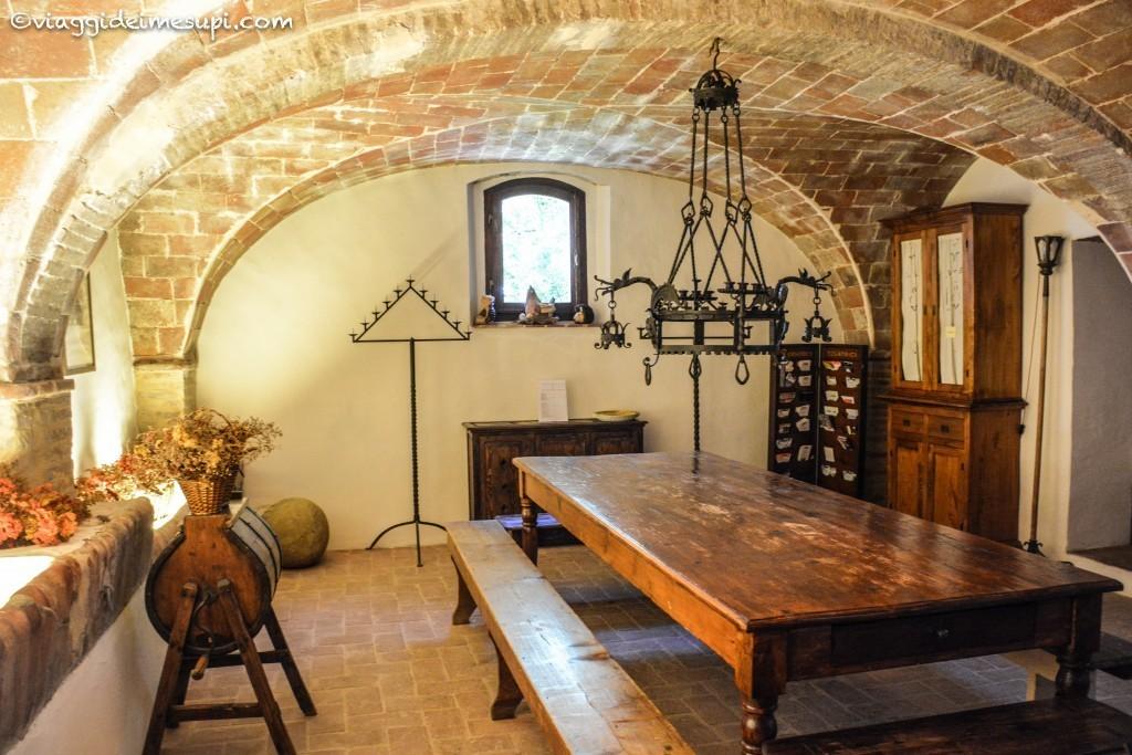 Colazione nella ex stalla alla Fortezza de Cortesi