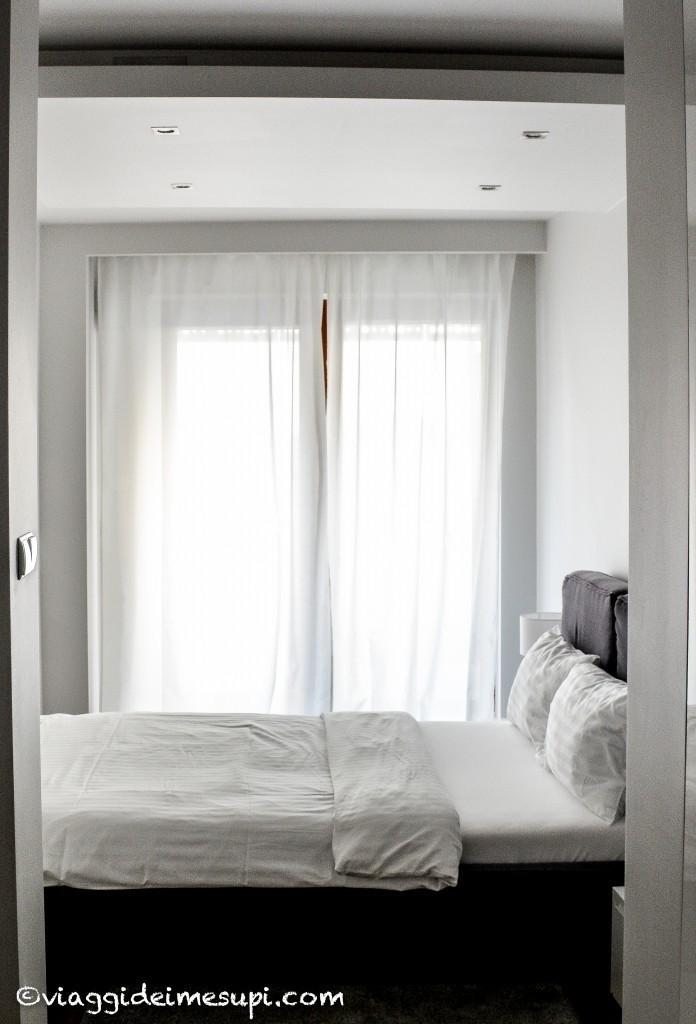 Dove dormire a Varsavia, camera da letto Oxygen Residence