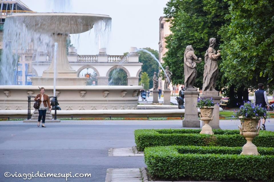 Cosa vedere a Varsavia, i giardini inglesi