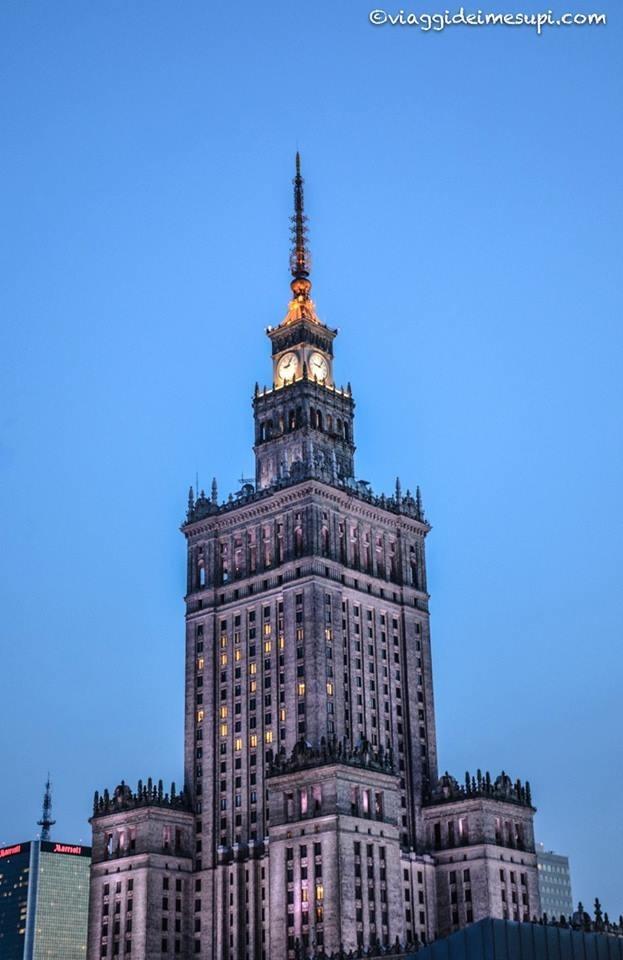 Cosa vedere a Varsavia, palazzo della scienza