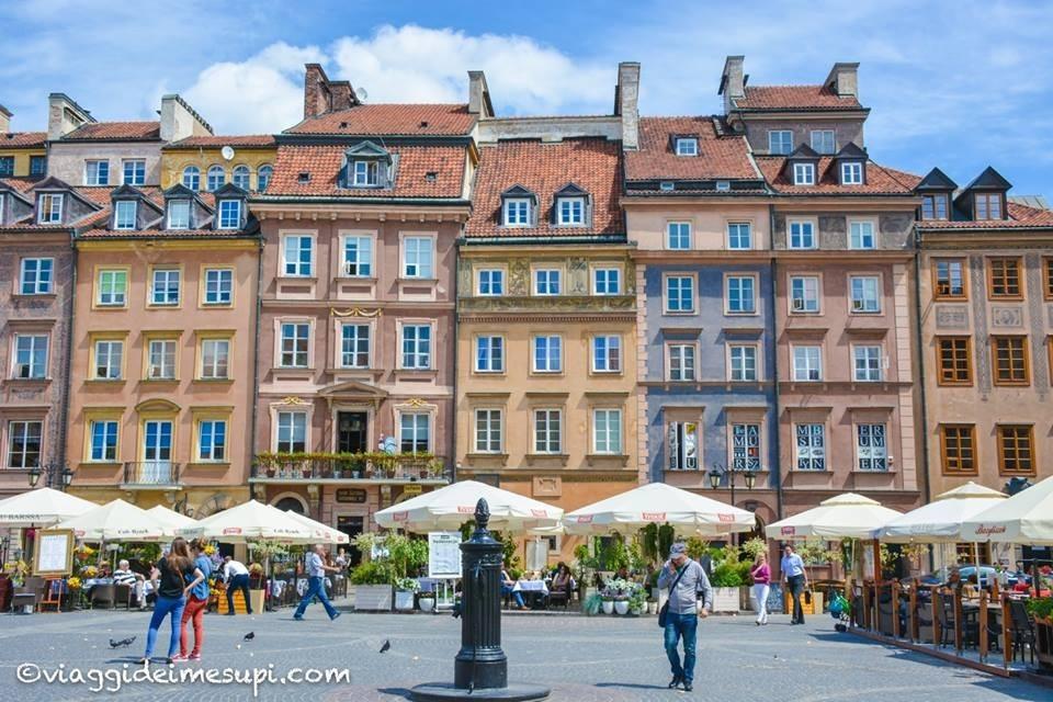 cosa vedere a Varsavia, Piazza del mercato