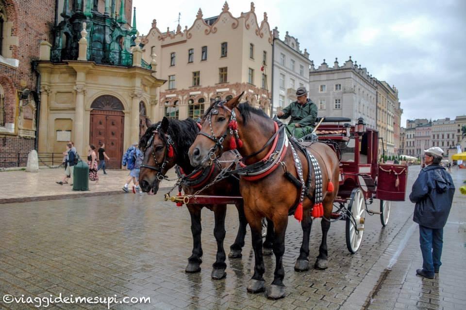 5 cose romantiche da fare a Cracovia, un giro in carrozzella