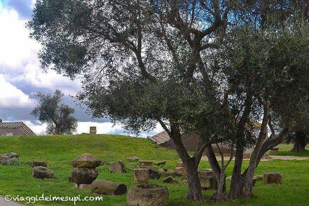 gita a Tarquinia, la necropoli etrusca