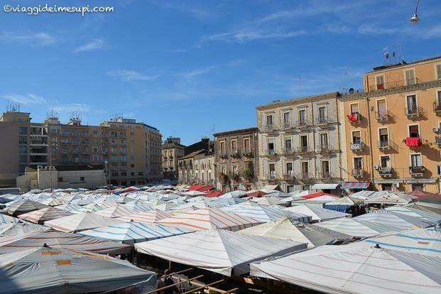 Weekend a Catania, il mercato Fera o luni