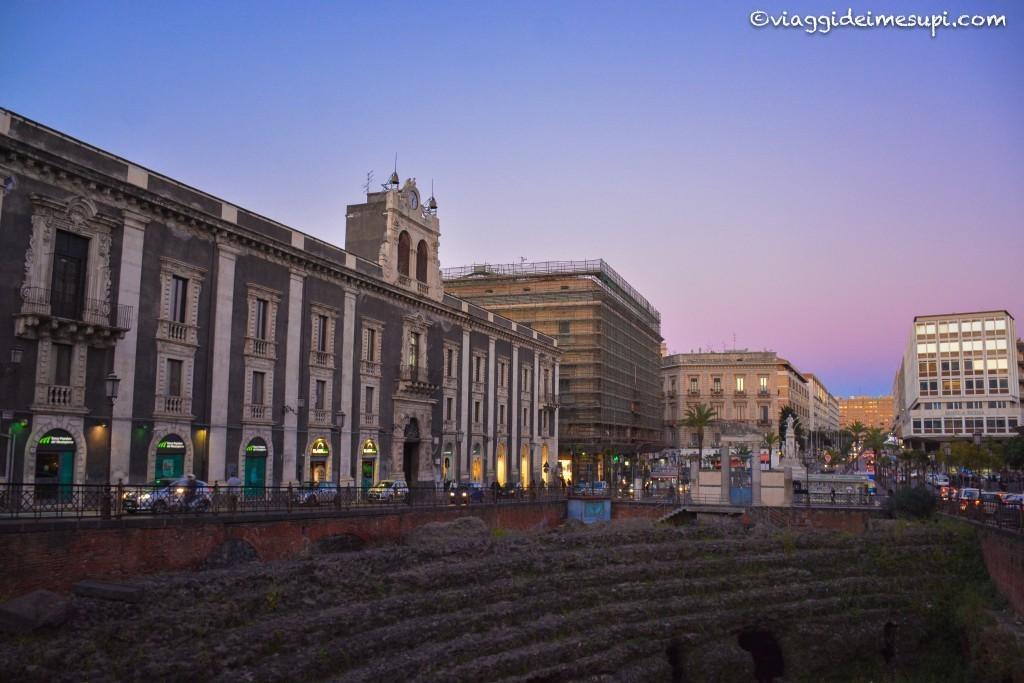 Weekend a Catania: Piazza Stesicoro