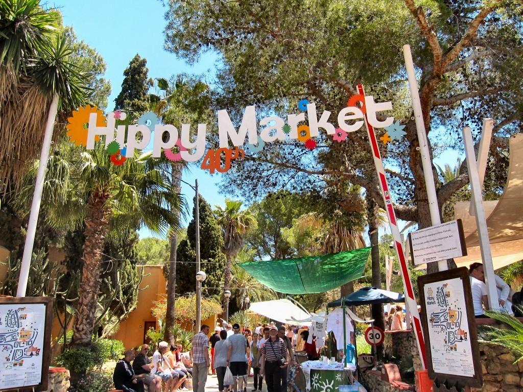 Mercatini hippie di Ibiza, hippie market