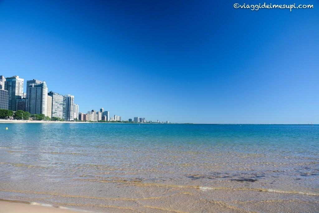 Sei cose da fare a Chicago, bagno nel Lago Michigan