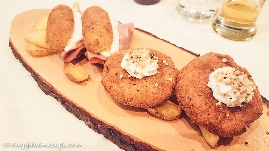 Mangiare la pizza vicino Napoli - La lanternina, fritti