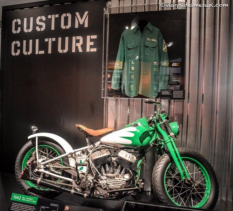Harley davidson Museum, cultura custom