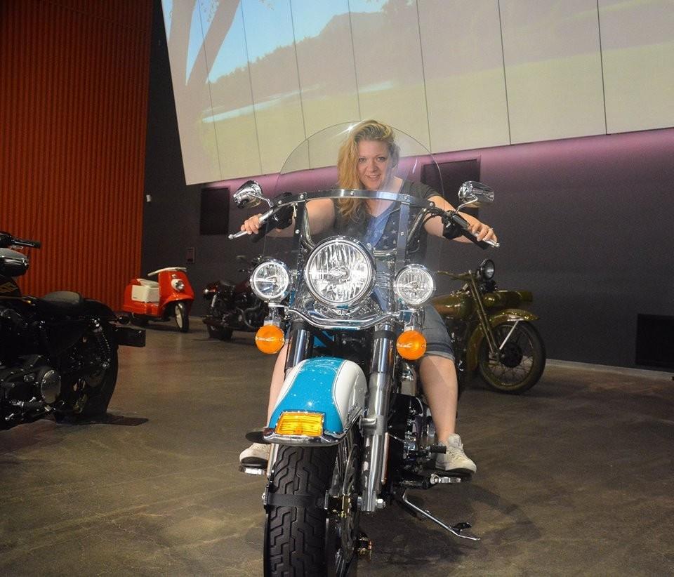 Harley davidson Museum, me