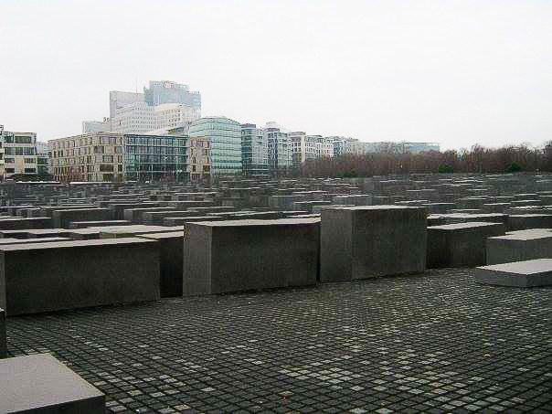 Prima volta a Berlino: memoriale dell'Olocausto