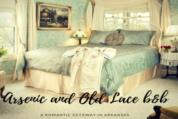 Where to sleep in Eureka Springs: Arsenic and Old Lace b&b, one of the most romantic staying in the USA