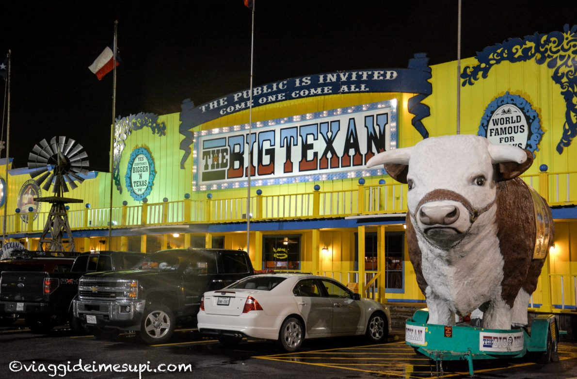 Dormire ad Amarillo: Big Texan Steak Ranch